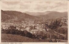 View From Pen Y Coed, LLANGOLLEN, Denbighshire