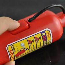 1 X Children Red Plastic Shaped Fire Extinguisher Squirting Water Type Toy