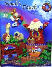 """""""Noah's Touch"""" Decorative Tole Painting Book: 20 Craft Projects w/ Wooden Pieces"""