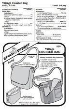 Village Courier Bag Messenger Bag Purse #555 Sewing Pattern (Pattern Only) gp555