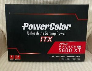 Powercolor Radeon RX 5600 XT ITX 6GB GDDR6 Graphics Card -🚚Free Fast Shipping🚚