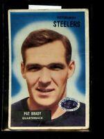 1955 BOWMAN#83 PAT BRADY STEELERS VG  D025308