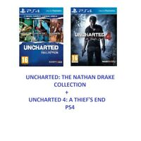 Uncharted 4 - The Nathan Drake Collection - Lost Legacy PS4 MINT - FAST Deliver