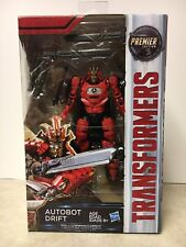 Transformers The Last Knight AUTOBOT DRIFT,Premier Edition,Deluxe Class