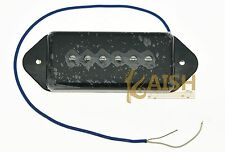 Black P90 High Power Sound Dogear Type BRIDGE Pickup Soapbar Guitar Pickups