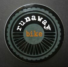 RUNAWAY BIKE Decal Sticker - Seattle, WASHINGTON