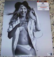 CLEARANCE SALE! Jennifer Aniston Signed Autographed 11x14 Photo GAI GA GV COA