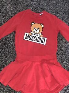 Girls Moschino Dress Age 3 Years