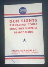 Pacific Gun Sights and Reloading 1944