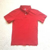Cherokee Polo Shirt Boy's Red Size Large (12-14) Short Sleeve School Uniform