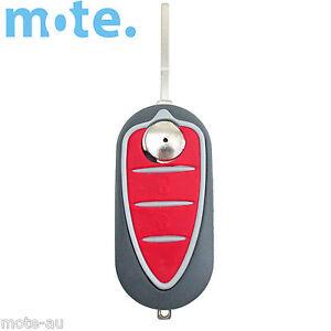 To Suit Alfa Romeo Guilietta Mito 159 GTA 3 button flip key FOB Shell/Case