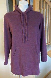 Motherhood Maternity Medium Purple Hoodie Pullover Sweatshirt