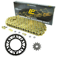 For Suzuki RM125 1980-2012 51/12T 520 122L Front Rear Sprocket Chain Kit