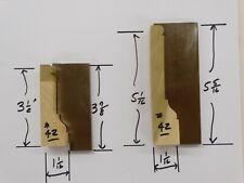 Shaper Molder Custom Corrugated Back Cb Knives For 3 12 Amp 5 116 Casing