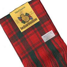 Tartan Sash Clan MacQuarrie Modern Ladies Scottish Wool Plaid