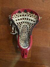 Stx Strung Lacrosse Head - Red