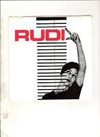 "RUDI 14 Steps to Death 7"" EP w/PS RE PUNK POWERPOP"