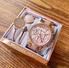 Michael Kors Blair Chronograph Watch + Bangle Set