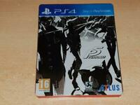 Persona 5 P5 PS3 Playstation 3 Limited Steelbook Edition **FREE UK POSTAGE**