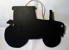Gran Tractor pizarra Signo Granja Animales de Granja Yarda Oficina Negro Board Navidad C