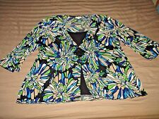 FB Beautiful Blouse Trendy 3X 22/24 Pleated Plus Stretch Top Shirt A10
