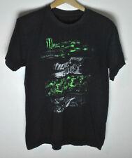 Monster Energy 2016 AMA Supercross Distressed T-Shirt Black size M/L