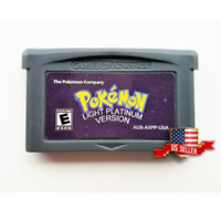 Pokemon Light Platinum   Fan Hack (USA Seller) - Nintendo Gameboy Advance GBA
