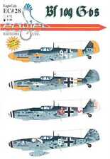 EagleCals Decals 1/48 MESSERSCHMITT Bf-109G-6 Fighters Part 2
