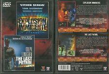 DVD - EXPLOSION IMMINENTE avec STEVEN SEAGAL + THE LAST PATROL avecDOLF LUNDGREN