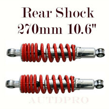 2pcs 270mm 10.6� Rear Shock Suspension 70 90 110 125cc Atv Quad Hydraulic Damp