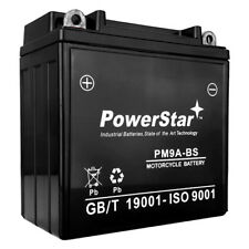 YB9-B - Motorcycle Battery - Dry Charge AGM - 12 Volt - 9 Ah Capacity UTX9A-BS