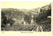 CPA 39 Jura Gizia et le Chanelet