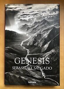GENESIS BY Sebastiao Salgado Taschen Art Photography Coffee Table Book
