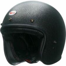 Bell Custom 500 Classic Motocycle Helmet Solid Black Flake Small
