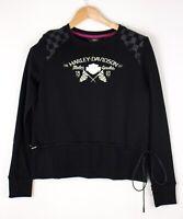 Harley Davidson Damen Freizeit Pullover Sweatshirt GRÖSSE S ASZ1393
