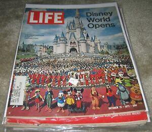 LIFE Magazine October 15 1971 Disney World Opens,  George Allen, Ingmar Bergman
