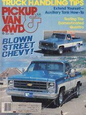 Pickup Van & 4WD July 1982 Blown Street Chevy w/ML 051017nonDBE