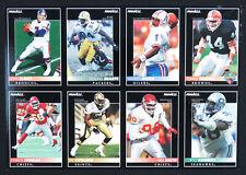 1993 Score Pinnacle NFL Football Super Bowl XXVII 8 Card Uncut Promo Sheet