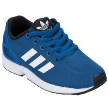 Chaussures bleus adidas à lacets pour garçon de 2 à 16 ans