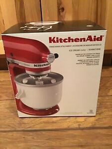 NEW KitchenAid Stand Mixer Attachment - Ice Cream Maker