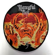 MERCYFUL FATE - 9  CIRCLE  EMBROIDERED PATCH