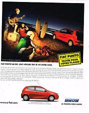 PUBLICITE ADVERTISING 075  2001  FIAT PUNTO 60 GO 2