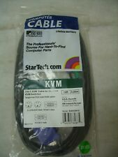 StarTech.Com - 3-in-1 KVM Cable for Starview KVM Switches SVECON10 *NOS*