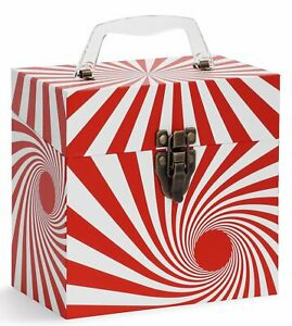 """45-RPM 7"""" inch VINYL RECORDS STORAGE & CARRY CASE – FREE SHIPPING!"""