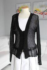VILA Strickjacke Cardigan Pullover Gr. 38 M Schwarz