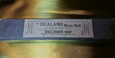 Pianola roll The Dualano Music Roll four English Dances (1st set)