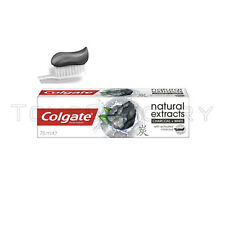 COLGATE Natural Extracts Activated CHARCOAL Toothpaste 75ml