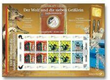Numisblatt 1/2020 GEBR: GRIMM - Der Wolf und die 7 Geißlein 20 Euro Münze Marken