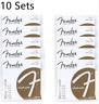 10 sets Fender 70XL 80/20 Bronze Extra Light Acoustic Guitar Strings (10-48)