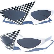 NEW WAVE Asymmetrical 80s Sunglasses Punk Rock Party Costume Radical Jetson